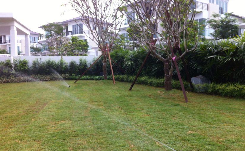 Automatic sprinkler system